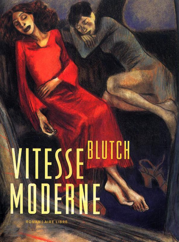 Vitesse moderne, bd chez Dupuis de Blutch, Ruby