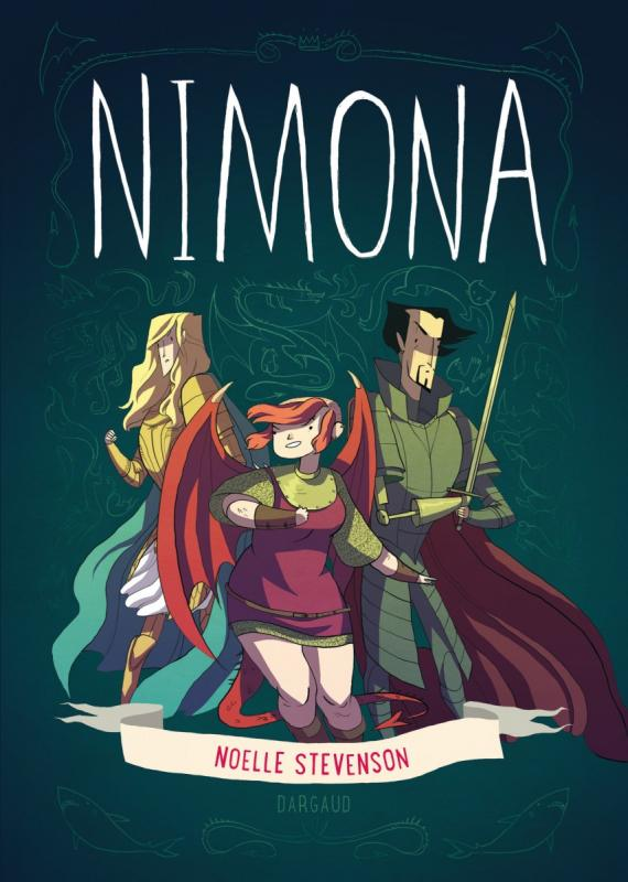 Nimona, comics chez Dargaud de Stevenson