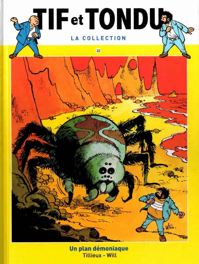 Tif et Tondu T22 : Un plan démoniaque (0), bd chez Hachette de Tillieux, Will