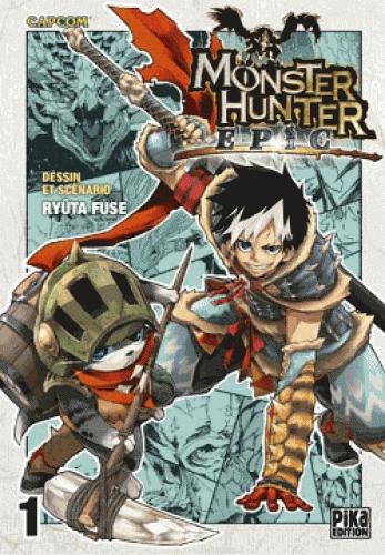 Monster hunter Epic T1, manga chez Pika de Fuse