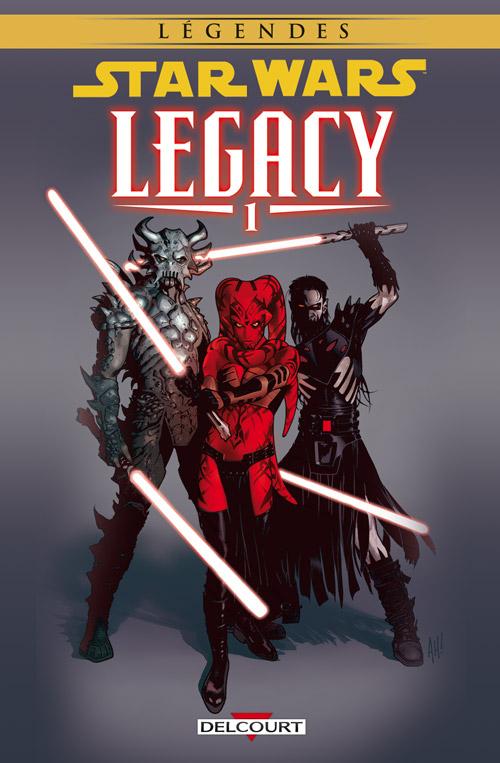 Star Wars Legacy – Saison 1, T1 : Anéanti (0), comics chez Delcourt de Ostrander, Duursema, Anderson, Hughes