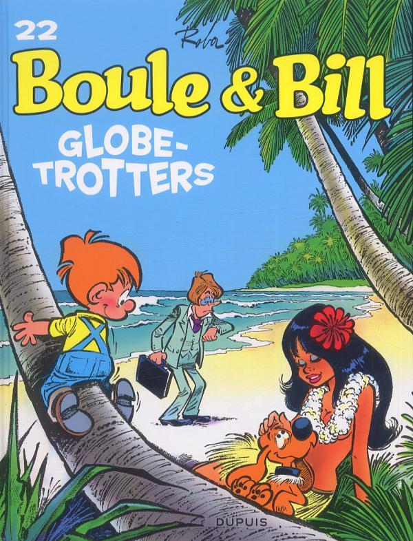 Boule et Bill T22 : Globe-trotters (0), bd chez Dupuis de Roba