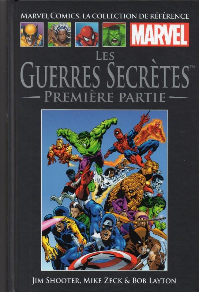 Marvel Comics, la collection de référence T7 : Les Guerres Secrètes - 1ère partie (0), comics chez Hachette de Shooter, Zeck, Layton, Scheele, Yomtov, Becton