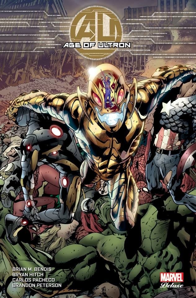 Age of Ultron, comics chez Panini Comics de Bendis, Hitch, Pacheco, Peterson, Villarrubia, Mounts