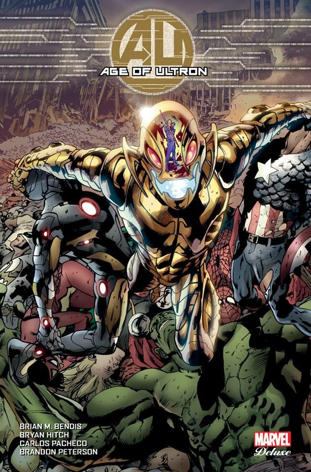 Age of Ultron, comics chez Panini Comics de Bendis, Hitch, Pacheco, Peterson, Villarrubia, Mounts
