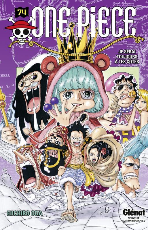 One Piece T74 : Je serai toujours à tes côtés (0), manga chez Glénat de Oda