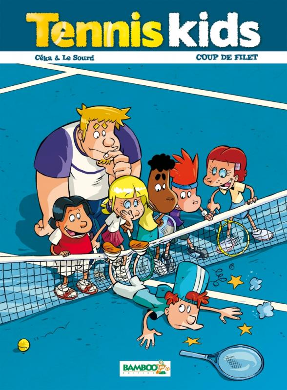 Tennis kids T2 : Coup de filet (0), bd chez Bamboo de Ceka, Le Sourd, Dawid