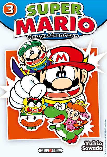 Super Mario T3, manga chez Soleil de Sawada