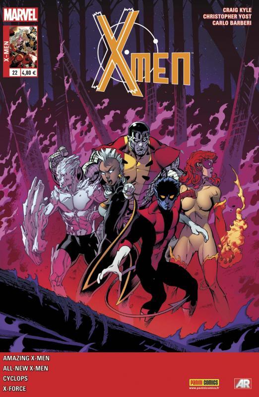 X-Men (revue) – V 4, T22 : World War Wendigo (0), comics chez Panini Comics de Kyle, Bendis, Yost, Spurrier, Rucka, Barberi, Immonen, Pichelli, Carnero, Keith, Rosenberg, Sotomayor, Gracia, Molina, McGuinness