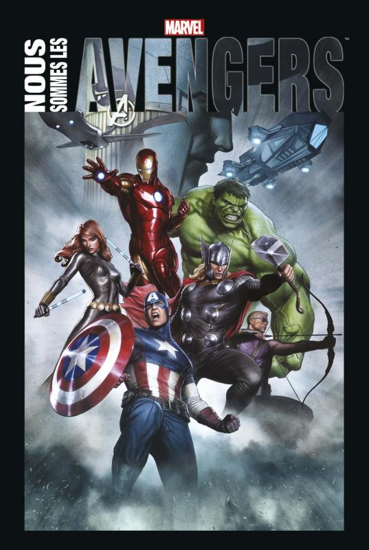 Nous sommes les Avengers, comics chez Panini Comics de Thomas, Shooter, Michelinie, Bendis, Lee, Byrne, Starlin, Collectif, Kirby, Colan, Buscema, Granov