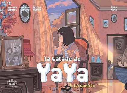 La Balade de Yaya  T9 : la sonate (0), manga chez Les Editions Fei de Omont, Zhao