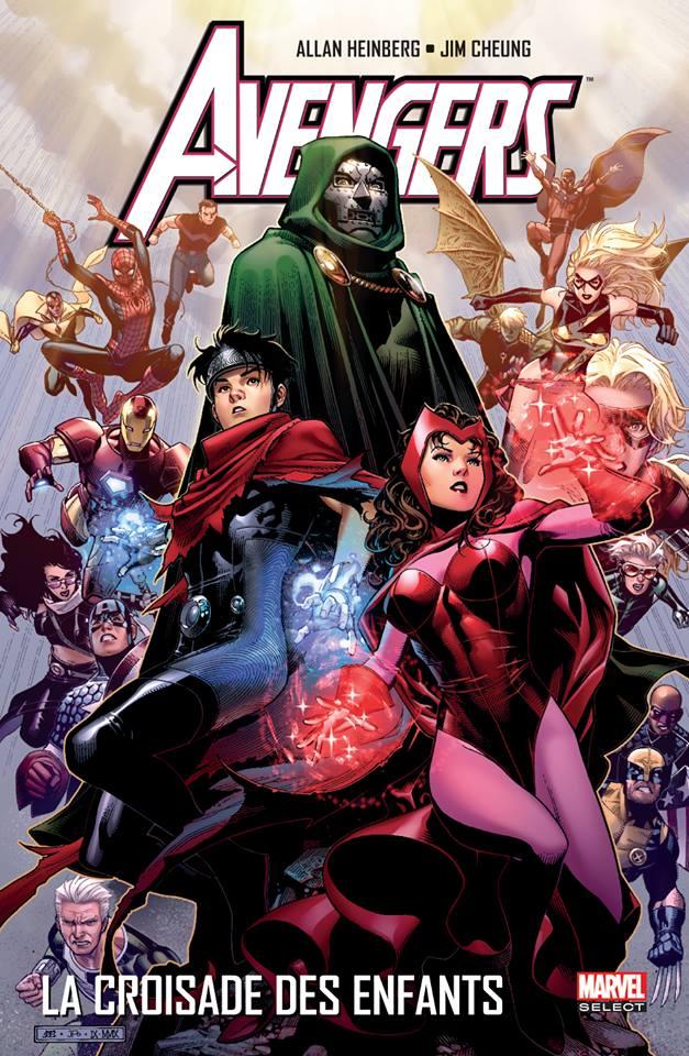 Avengers - La croisade des enfants, comics chez Panini Comics de McCann, Heinberg, Samnee, Davis, Mounts, Ponsor, Rodriguez, Wilson, Cheung