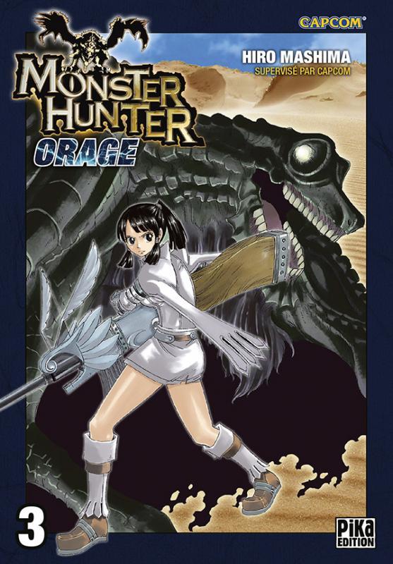 Monster Hunter orage – 2ème édition, T3, manga chez Pika de Mashima