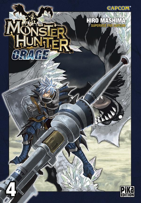 Monster Hunter orage – 2ème édition, T4, manga chez Pika de Mashima