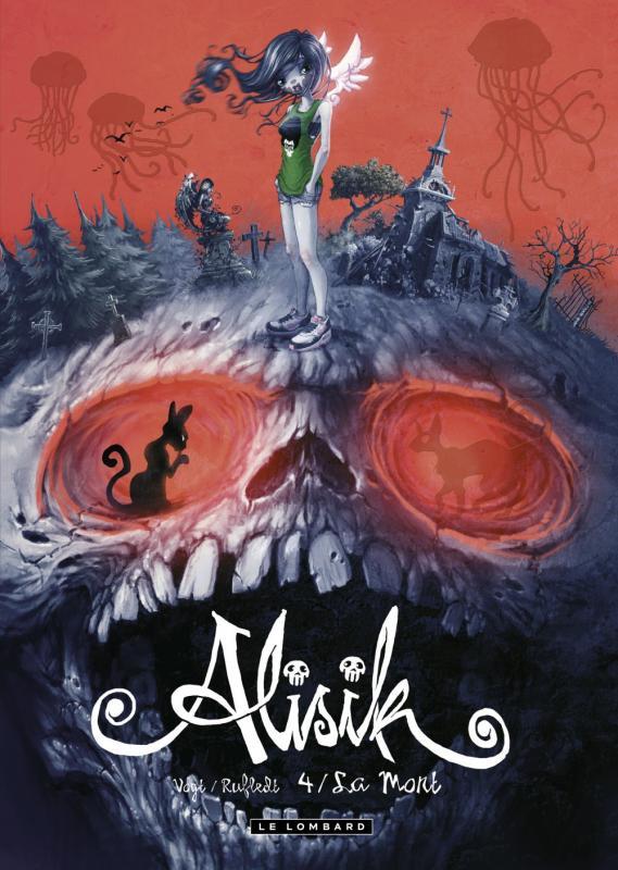 Alisik T4 : La mort (0), bd chez Le Lombard de Vogt, Rufledt