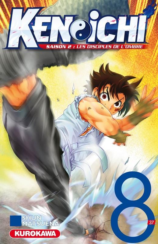 Ken-Ichi – Les disciples de l'ombre 2, T8, manga chez Kurokawa de Matsuena