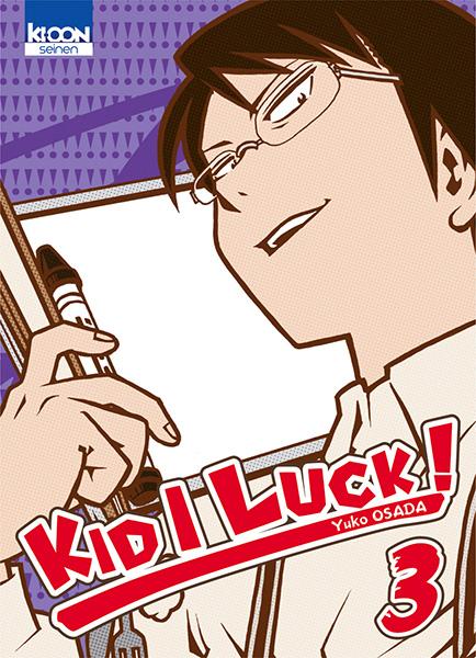 Kid I Luck  T3, manga chez Ki-oon de Osada