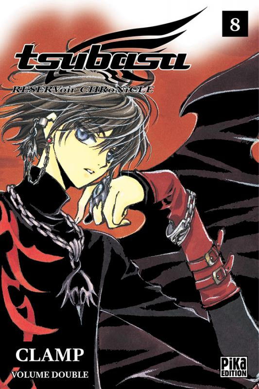 Tsubasa RESERVoir CHRoNiCLE – Edition double, T8, manga chez Pika de Clamp