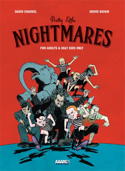 Little pretty nightmare, bd chez Aaarg ! de Chauvel, Boivin