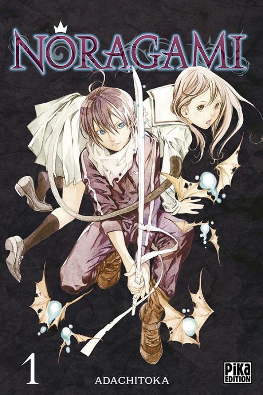 Noragami T1, manga chez Pika de Adachi