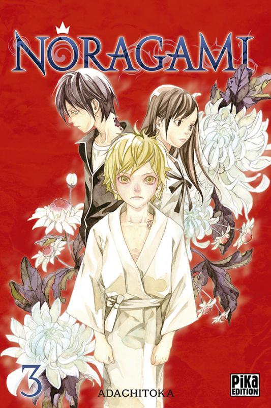 Noragami T3, manga chez Pika de Adachi