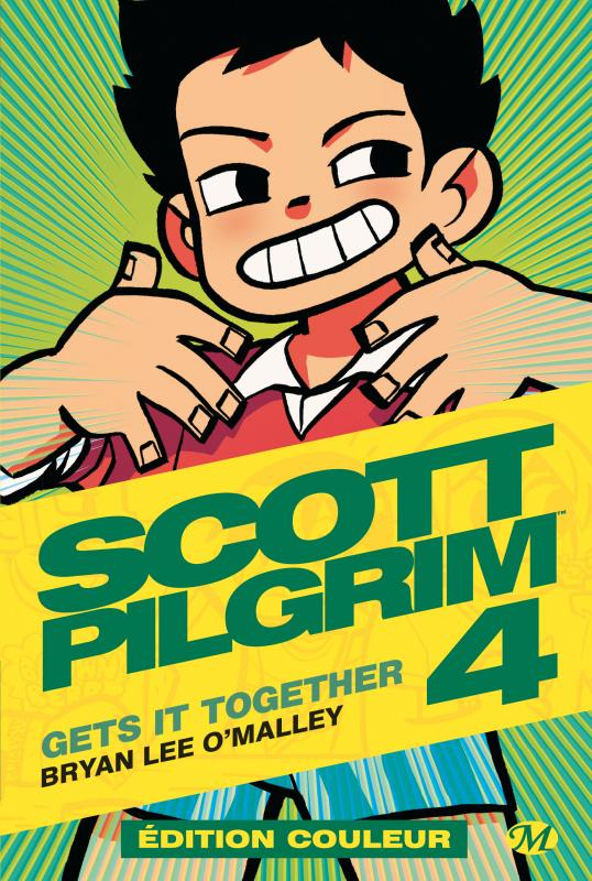 Scott Pilgrim T4 : Gets it together (0), comics chez Milady Graphics de O'Malley, Fairbairn