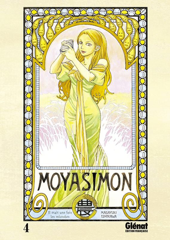 Moyasimon T4, manga chez Glénat de Ishikawa