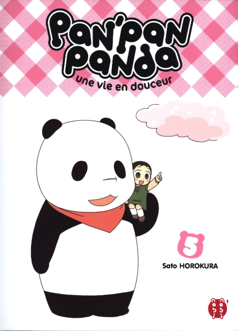 Pan' pan panda T5, manga chez Nobi Nobi! de Horokura