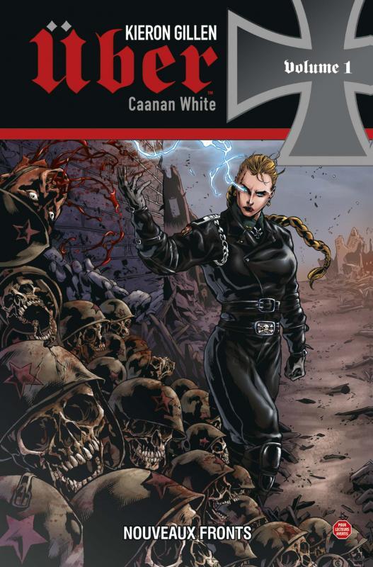 Über T1 : Nouveaux fronts (0), comics chez Panini Comics de Gillen, White, Digikore studio