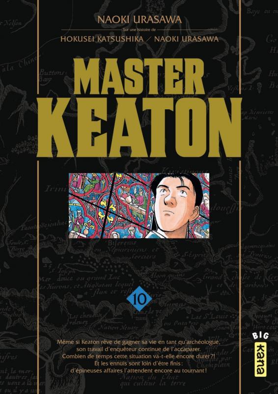 Master Keaton T10, manga chez Kana de Urasawa, Katsushika