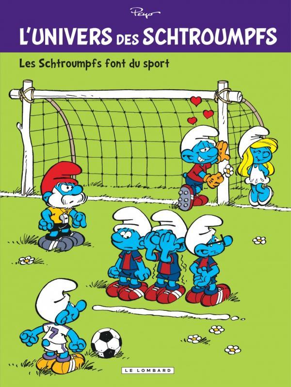 L'Univers des Schtroumpfs T6 : Les schtroumpfs font du sport (0), bd chez Le Lombard de Peyo