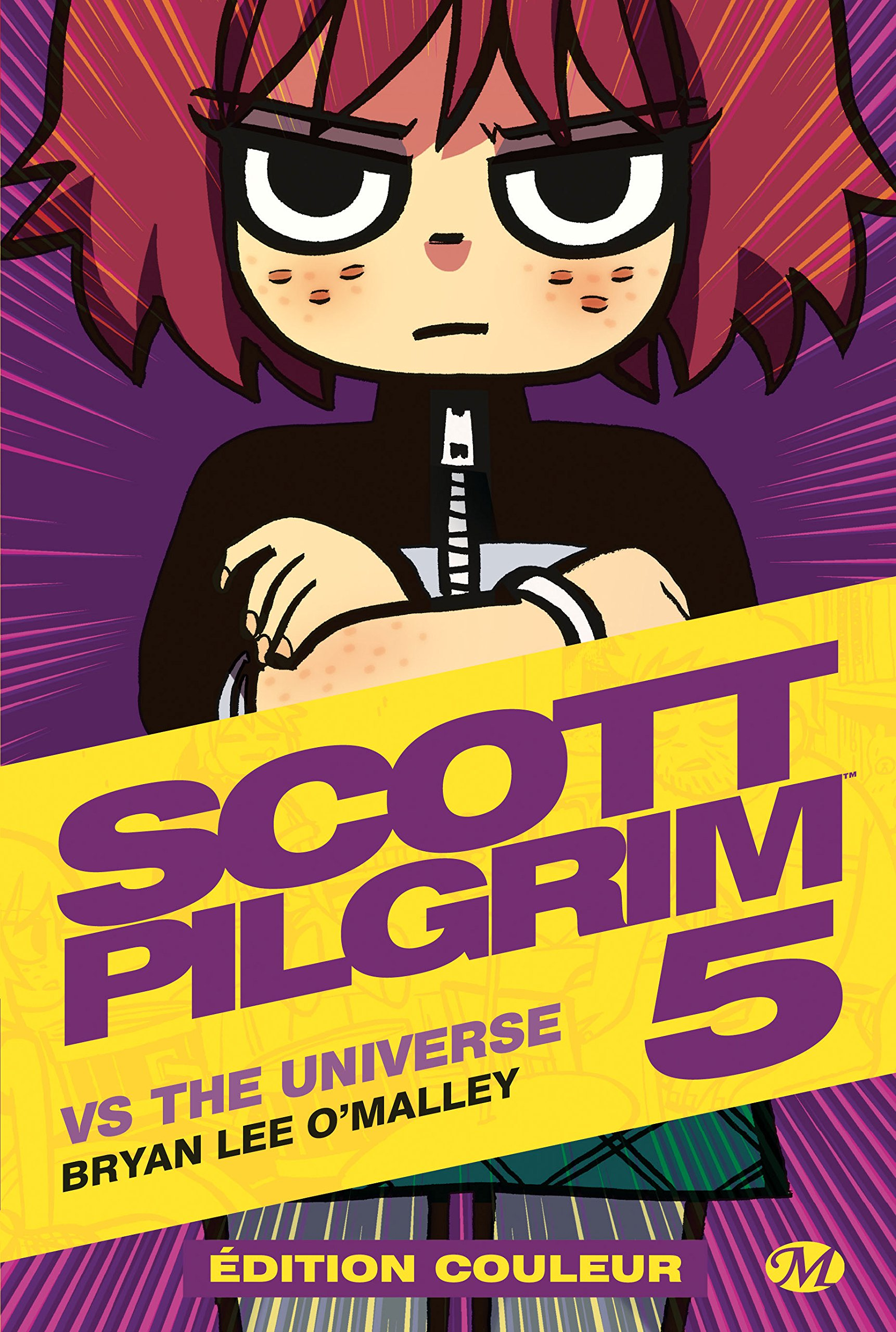 Scott Pilgrim T5 : vs the Universe (0), comics chez Milady Graphics de O'Malley, Fairbairn