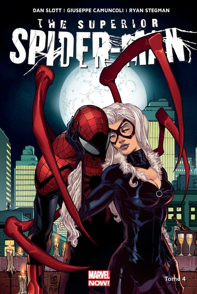 Superior Spider-Man T4 : Un mal nécessaire (0), comics chez Panini Comics de Slott, Camuncoli, Stegman, Fabela, Delgado