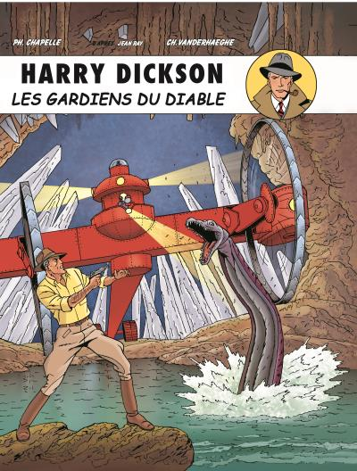 Harry Dickson T10 : Les gardiens du diable (0), bd chez Art et BD de Vanderhaegen, Chapelle