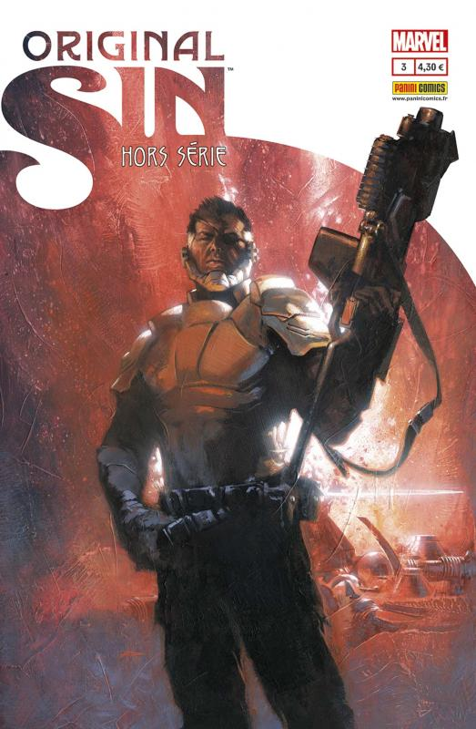 Original Sin – Hors-série, T3, comics chez Panini Comics de Ewing, Robinson, North, Maleev, Guice, Villalobos, Peter, Wilson, Gibson, Dell'otto