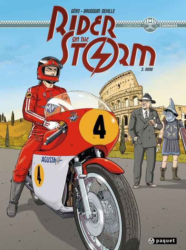 Rider on the storm T3 : Rome (0), bd chez Paquet de Géro, Deville