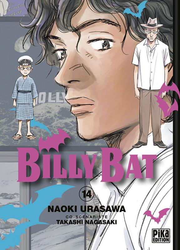 Billy Bat T14, manga chez Pika de Nagasaki, Urasawa