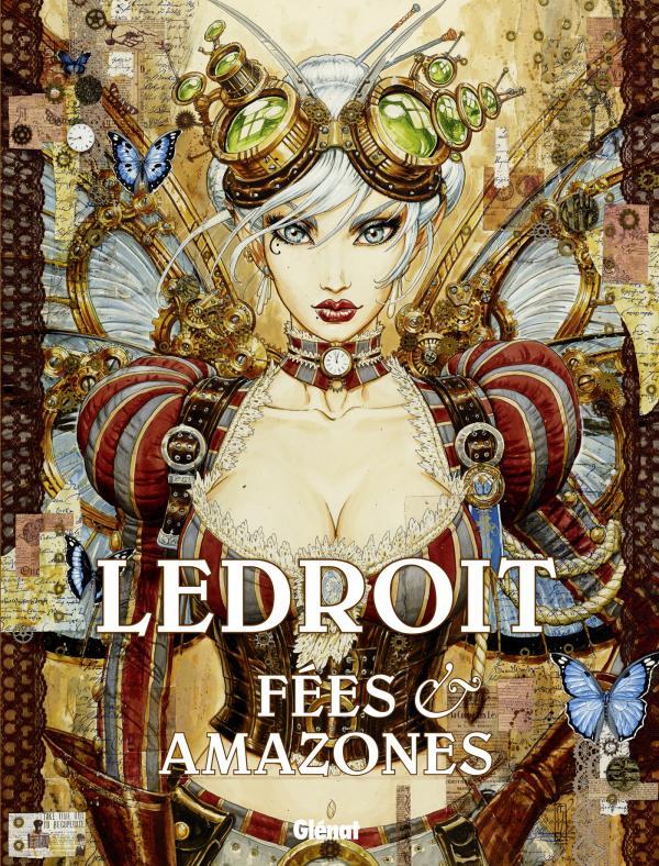Fées et amazones, bd chez Glénat de Ledroit, Day