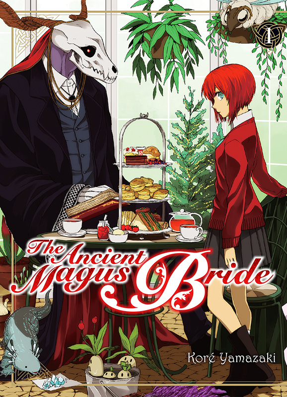 The ancient magus bride  T1, manga chez Komikku éditions de Yamazaki