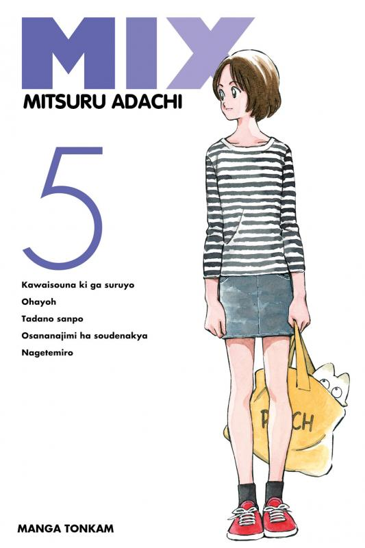 Mix  T5, manga chez Tonkam de Adachi