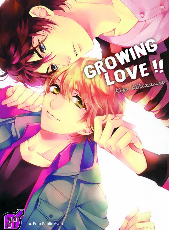 Growing love, manga chez Taïfu comics de Kitazawa