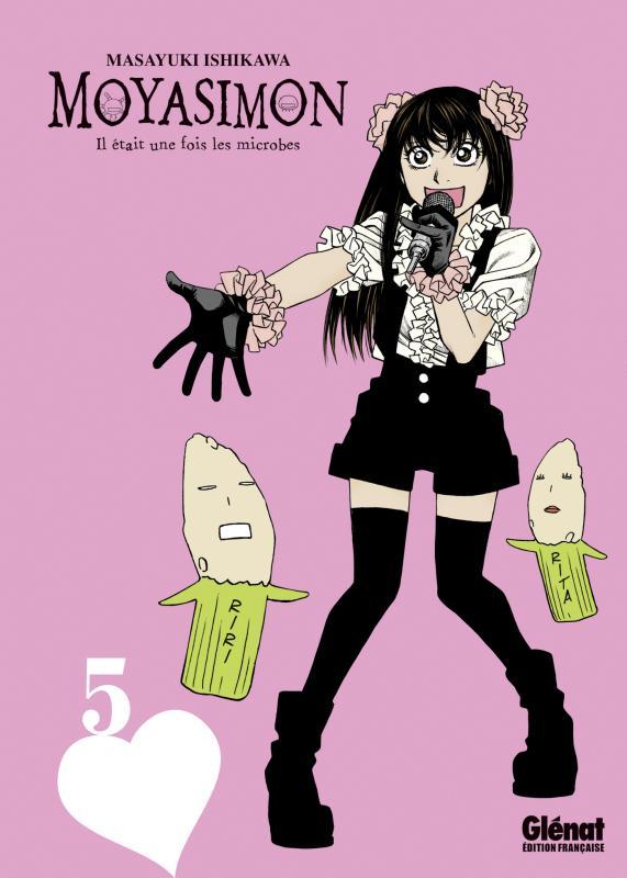 Moyasimon T5, manga chez Glénat de Ishikawa