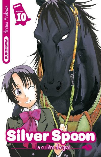 Silver spoon T10, manga chez Kurokawa de Arakawa