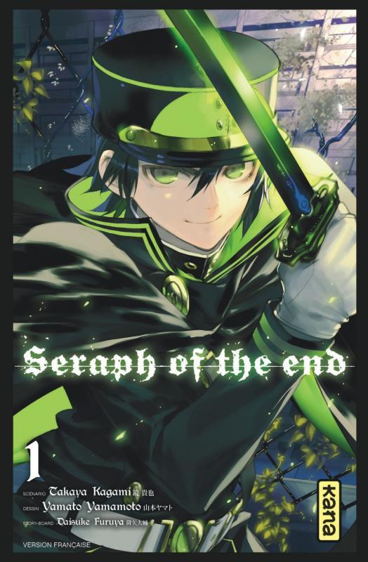 Seraph of the end  T1, manga chez Kana de Kagami, Yamamoto