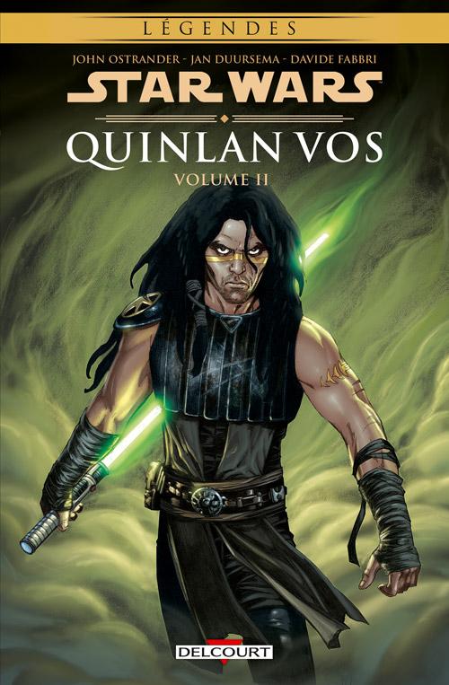 Star Wars - Quinlan Vos T2, comics chez Delcourt de Ostrander, Fabbri, Duursema, Jackson, Anderson, McCaig, Major
