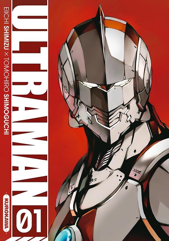 Ultraman T1, manga chez Kurokawa de Shimizu, Shimoguchi