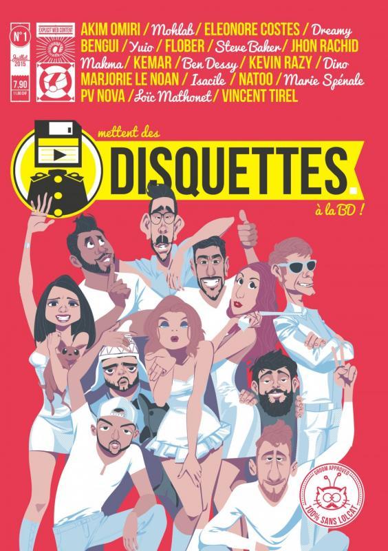 Disquettes, bd chez Dupuis de Collectif