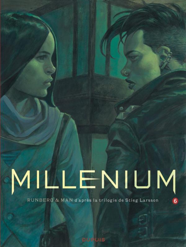 Millénium T6, bd chez Dupuis de Runberg, Man