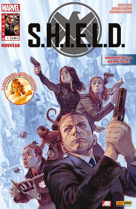 S.H.I.E.L.D. (revue) T1 : Les balles parfaites (0), comics chez Panini Comics de Waid, Immonem, Ellis, Pacheco, Ramos, Boyo, Delgado, Almara, Tedesco