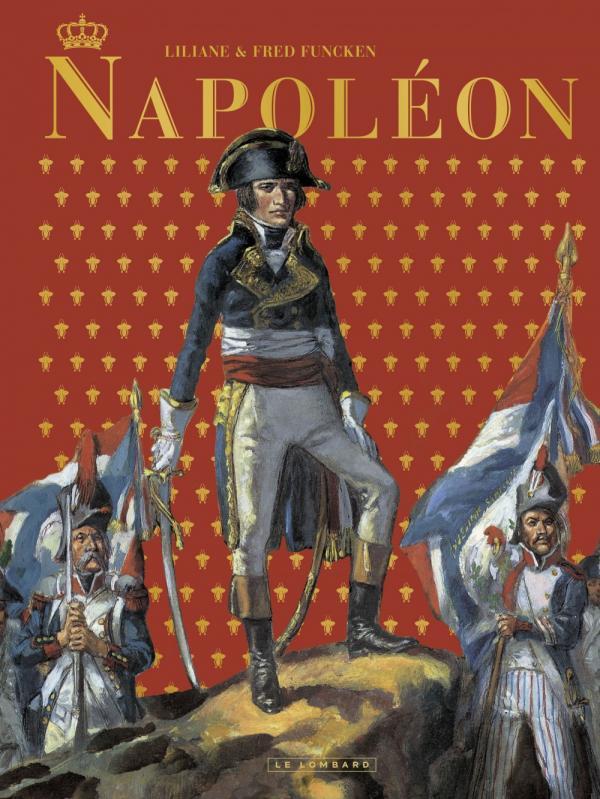 Napoléon, bd chez Le Lombard de Funcken, Funcken